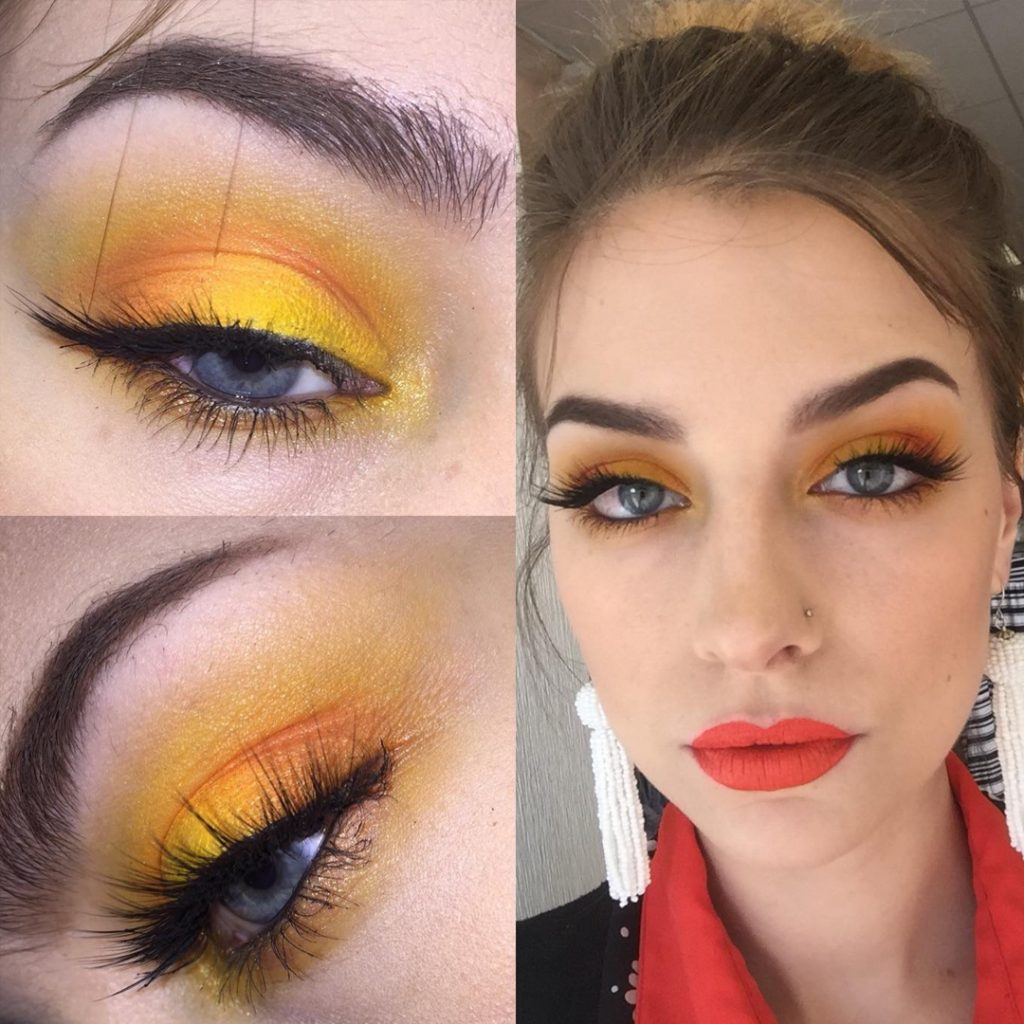 Yellow shadow 'daytime wearable'