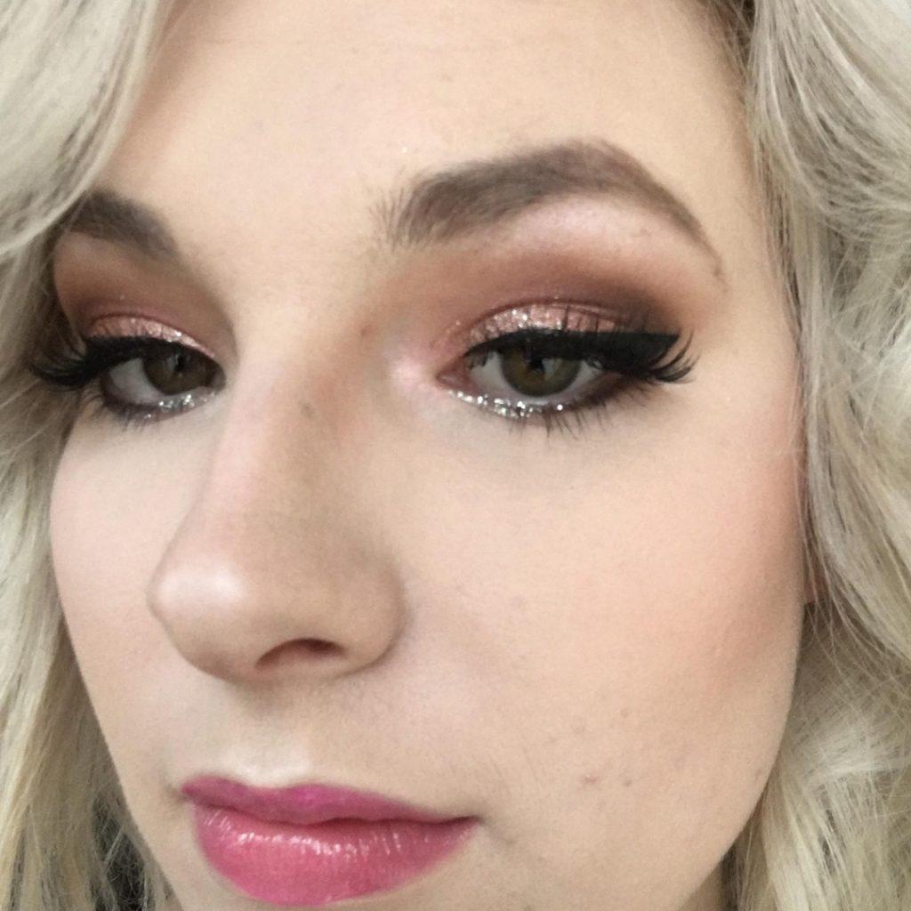 Pink shimmer voor bij een bruiloft